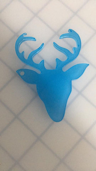 Acrylic Deer Head key chain