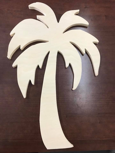 Wood - Palm Tree-- 18in