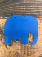 Acrylic Elephant Key chain