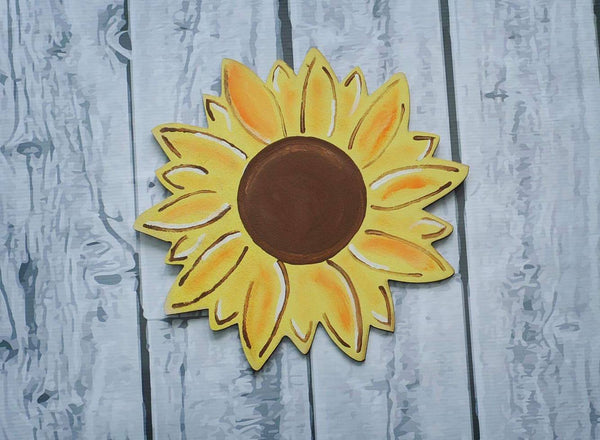 SunFlower Wood Cut out