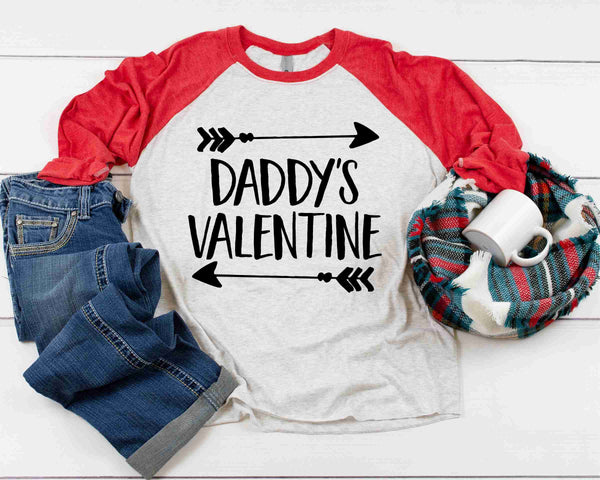 Daddy's Valentine Arrow - Transfer
