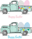 Easter Mint Pastel Truck