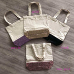 Canvas Glitter Bags