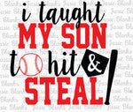 BASEBALL-I taught my son to hit and steal - Transfer
