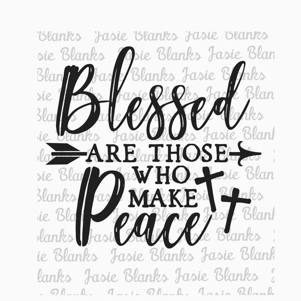 Blessed are those who make Peace- Transfer