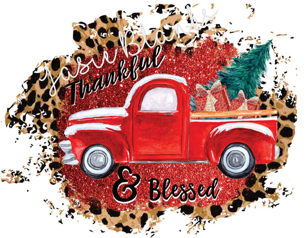 Thankful and Blessed Cheetah Truck Transfer