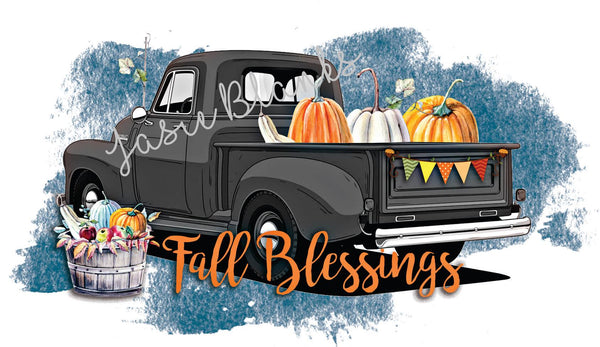 Fall Blessings Transfer