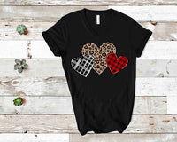 Leopard/Plaid Heart- Transfer