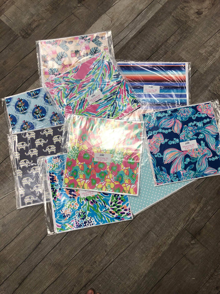 Outdoor Patterned Vinyl Pack - 10 Sheets