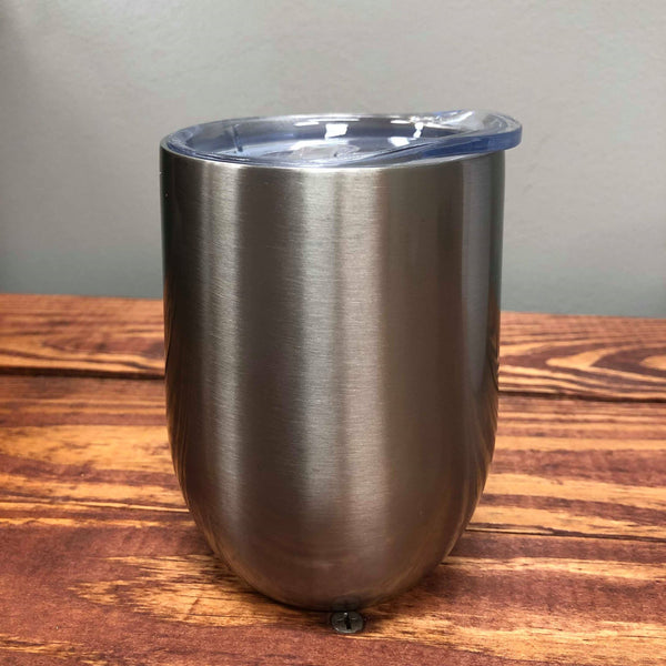 12 oz  Stainless steel Wine Tumbler