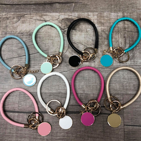 Bangle Key chain Solid color