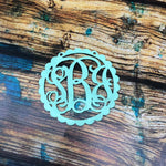 Scalloped Monogram