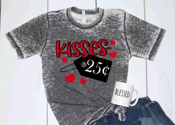 Kisses $.25 - Transfer