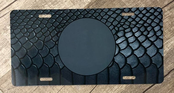 Black Snake Skin- Car Kit