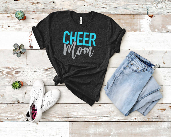 Graphic T-shirt- CHEER MOM