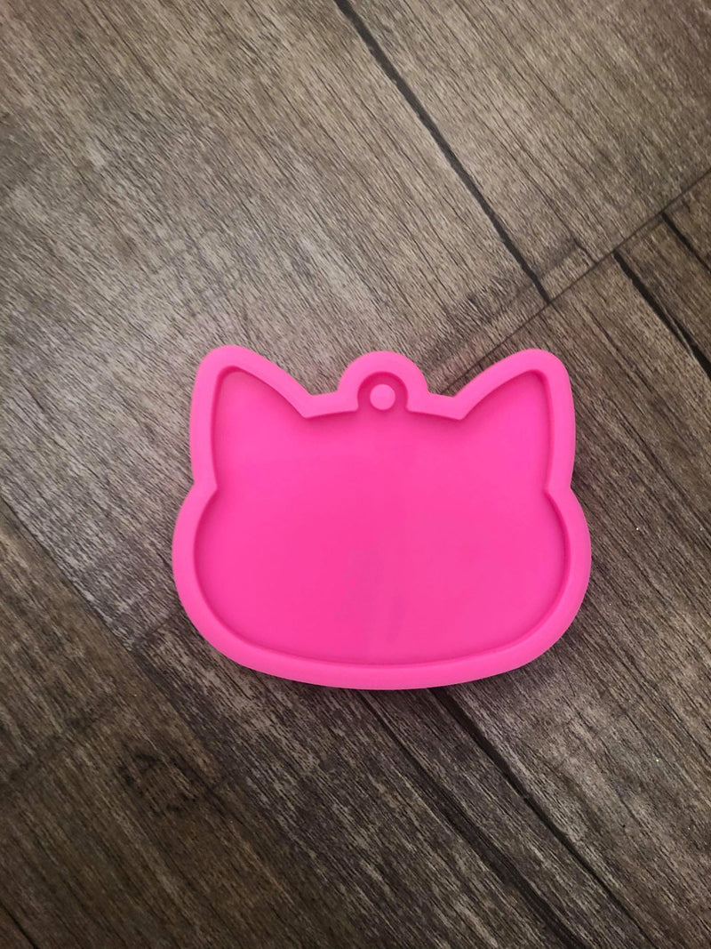 Cat Face - Silicone Mold