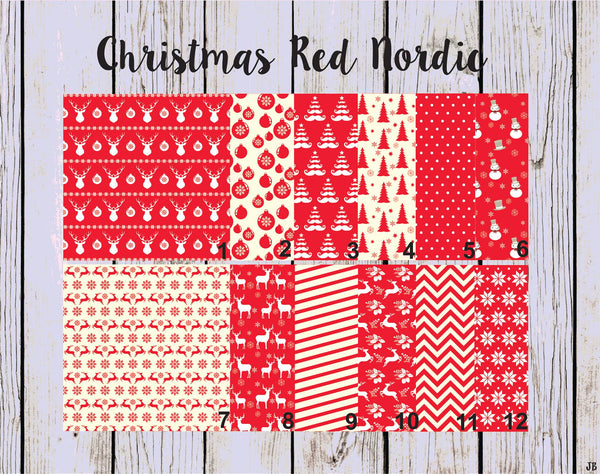 Christmas Red Nordic