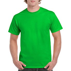 Gildan Adult T-Shirt - Electric Green