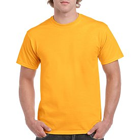 Gildan Adult T-Shirt - Gold