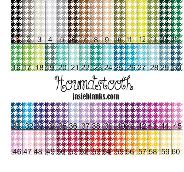 Houndstooth- Adhesive Outdoor