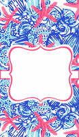 Lilly 54 StarFish Oversize Garden Flag