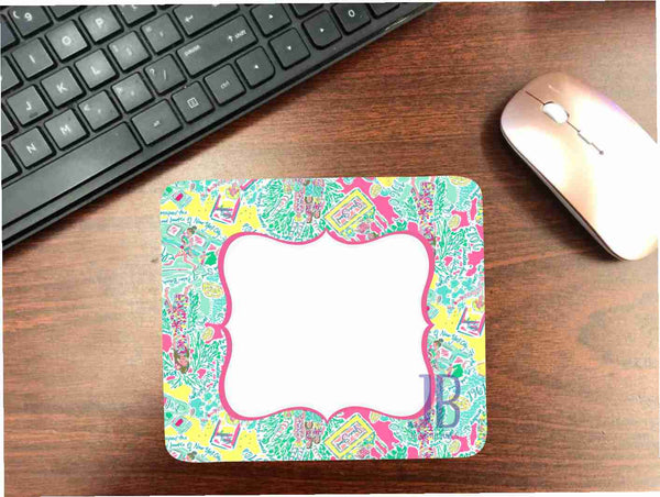 Lilly #7 Mouse Pad