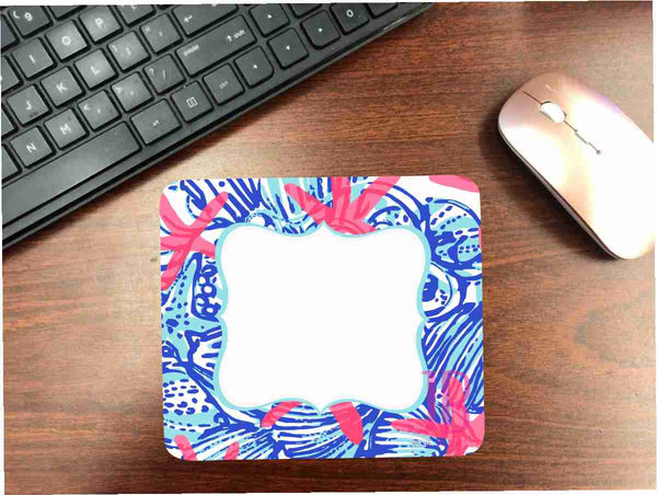Lilly Starfish Mouse Pad