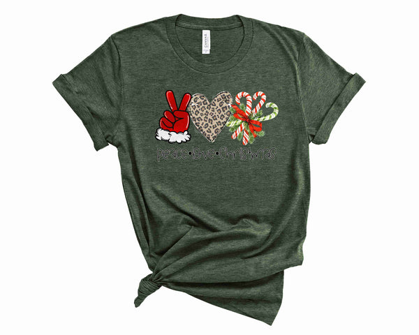 PLC Candy Canes - Graphic Tee