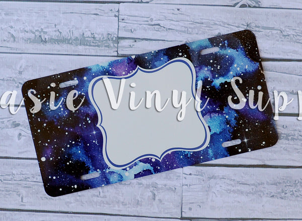 License plate-  Galaxy