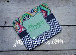 Lilly Diamond with Chevron Mouse Pad