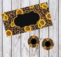 Sunflower/Dark Leopard Car Kit