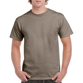 Gildan Adult T-Shirt - Brown Savannah