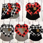 Buffalo Plaid Pocket T-Shirt