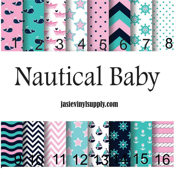 GARDEN FLAGS Nautical Baby