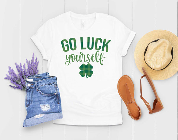 Go Luck Yourself - St. Patrick's Day Transfer