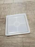 Small square coaster Silicone Mold