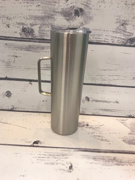 30 oz Skinny with handle