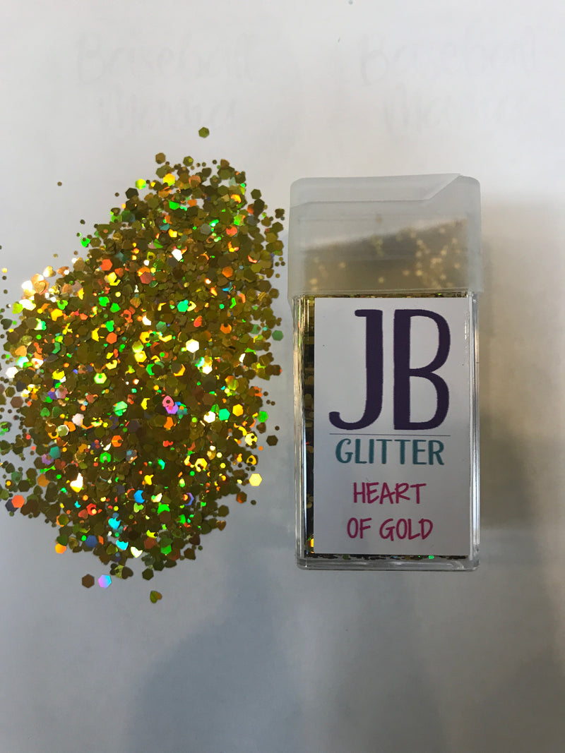 Chunky Glitter - Heart of Gold