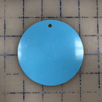 Sublimation Circle Metal Ornament