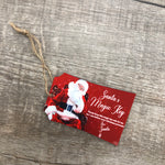Sublimation Santa Tag- Transfer Design