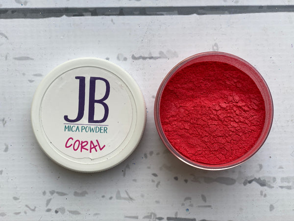 Mica Powder- Coral