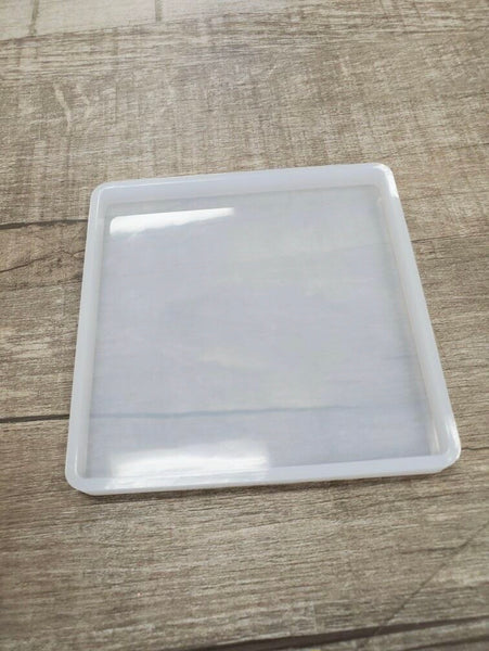 4x4 square coaster Silicone Mold