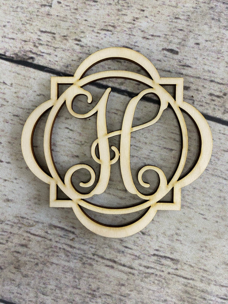Circle Quatrefoil - Wood Cutout