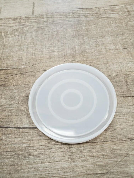 Big circle coaster Silicone Mold