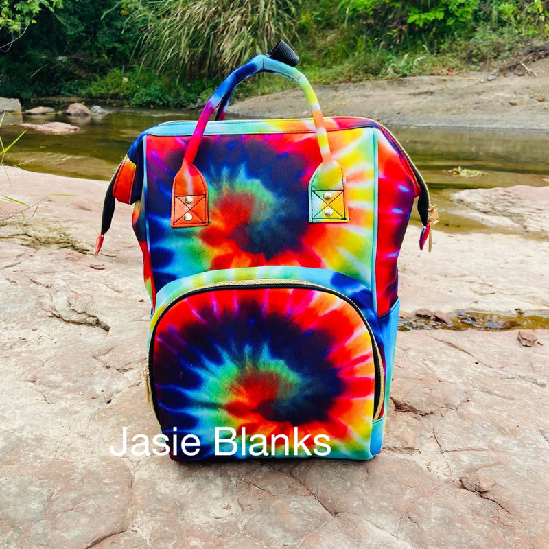 Backpack Diaper bag ~ TIE DYE