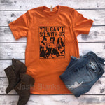 You can't sit with us Fall Design -T-Shirt