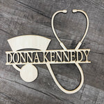 Nurse Name Door Hanger
