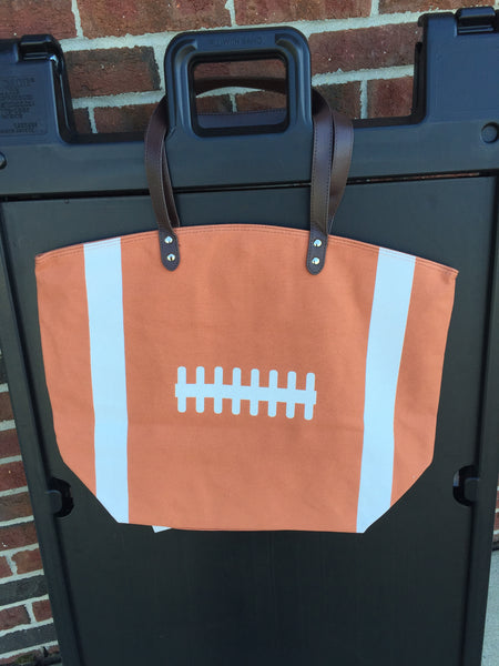 Canvas FOOTBALL Tote