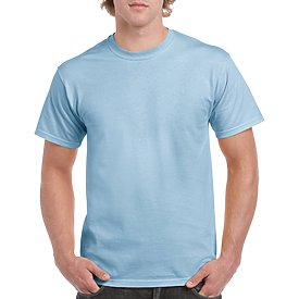 Gildan Adult T-Shirt - Light Blue