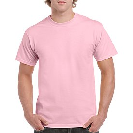 Gildan Adult T-Shirt - Light Pink